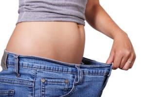 ダイエットして痩せた女性
