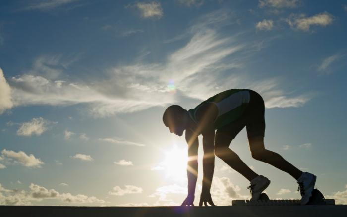 強度の高い運動をする人